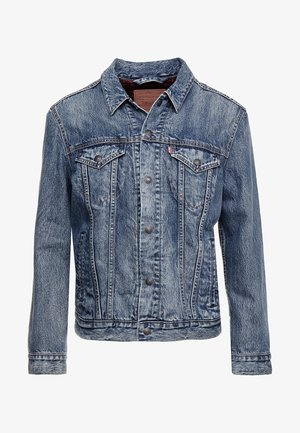 LINED TRUCKER JACKET - Spijkerjas - sequoia