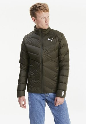 WARM PACKLITE - Down jacket - forest night