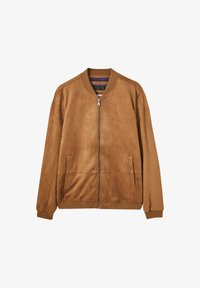 PULL&BEAR - Giacca in similpelle - brown - 5