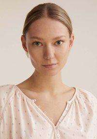 OYSHO - FLORAL  - Pyjama top - rose - 3