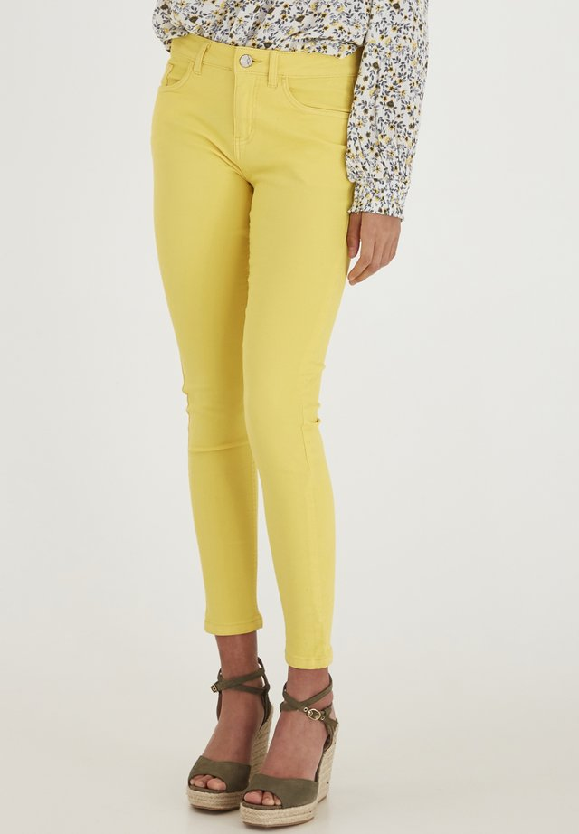 FRCAYELLOW - Jeans Skinny Fit - lemon zest