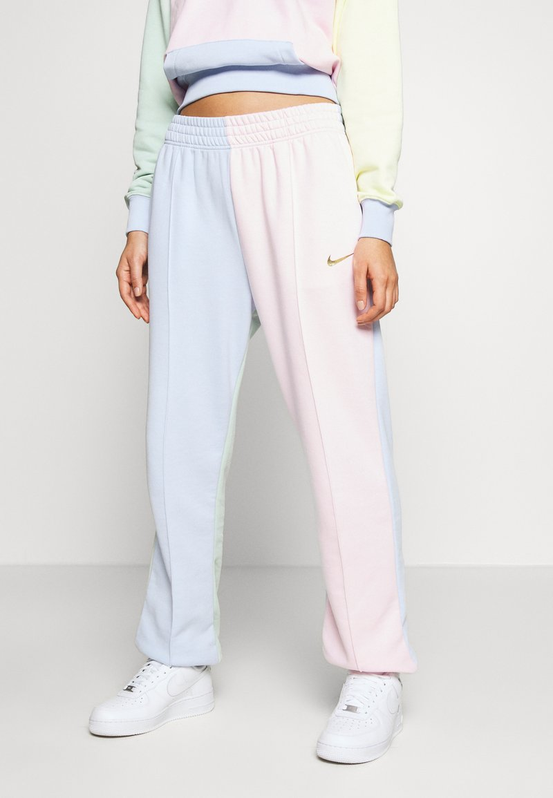 Nike Sportswear - PANT  - Teplákové kalhoty - hydrogen blue/pink foam