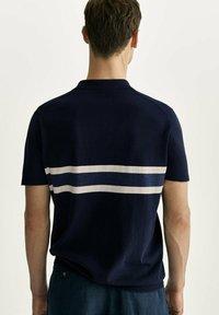 Massimo Dutti - Polo shirt - blue-black denim - 2