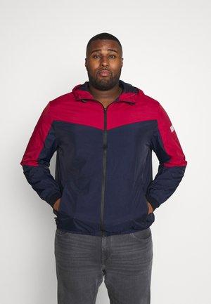 JCOSPRING LIGHT JACKET - Summer jacket - rio red/maritime blue