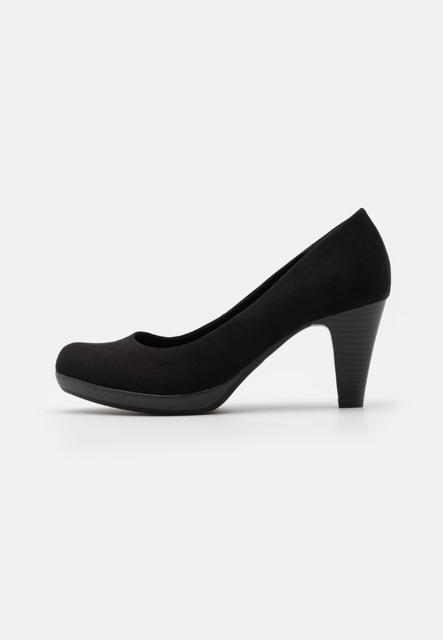 COURT SHOE - Platform heels - black