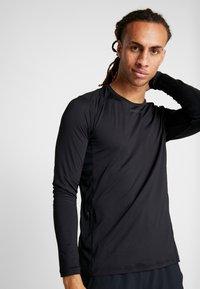 Craft - ESSENCE TEE - Långärmad tröja - black - 3
