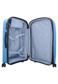Delsey - BELMONT PLUS  - Wheeled suitcase - metallic blue - 4