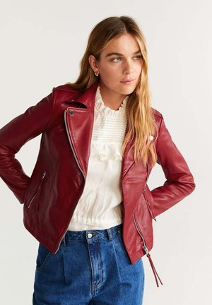 PERFECT - Lederjacke - red