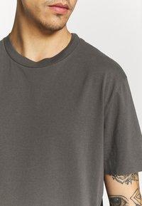 AllSaints - MUSICA - Basic T-shirt - alp grey - 4