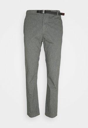 PANTS JUST CUT - Chino kalhoty - heather grey