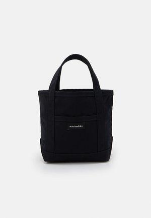 MINI PERUSKASSI BAG - Handbag - black