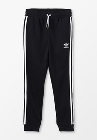 adidas Originals - TREFOIL PANTS - Verryttelyhousut - black/white - 0