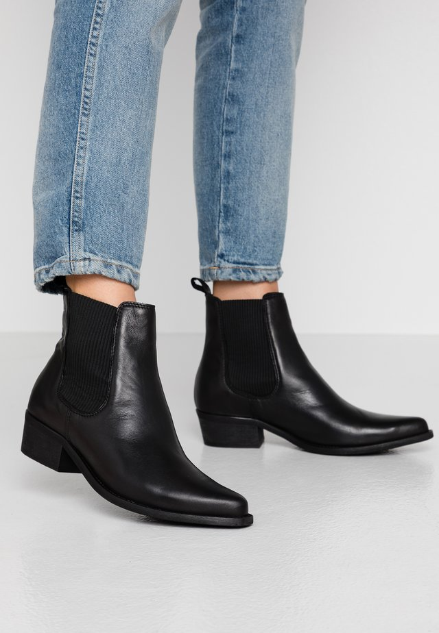 BIACOCO CHELSEA WESTERN - Classic ankle boots - black