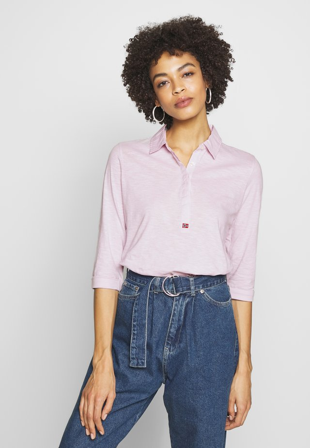 ENORA - Polo shirt - petal pink