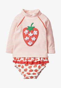 Boden - SET - Swimsuit - natural white/dolphin pink - 0