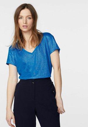 Print T-shirt - bleu gitane