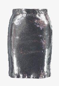 WRSTBHVR - SKIRT MILLY - Minisukně - silver - 3