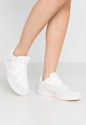 ALLEYOOP - Sneakersy niskie - summit white/washed coral