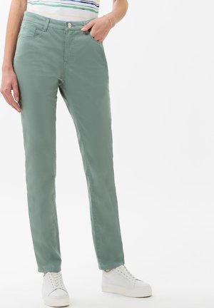 STYLE MARY - Trousers - sage