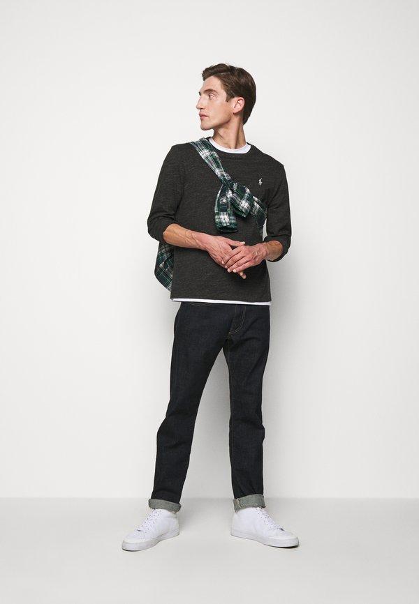 Polo Ralph Lauren Bluzka z długim rękawem - black marl/ciemnoszary Odzież Męska VMEP