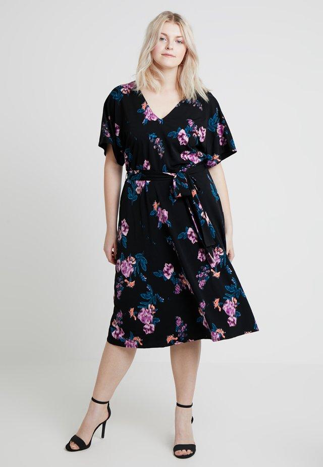 EXCLUSIVE ANDREA DRESS - Jersey dress - black