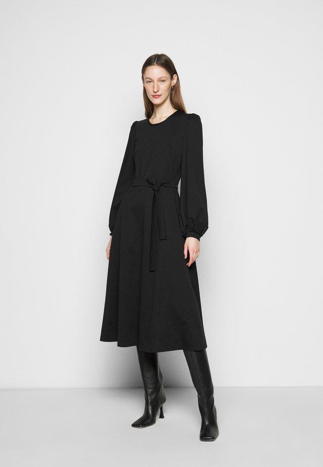 GIRALDA - Vestito di maglina - schwarz