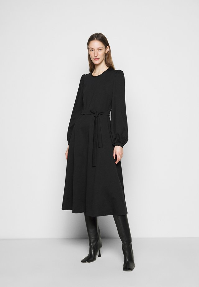 GIRALDA - Jerseykleid - schwarz