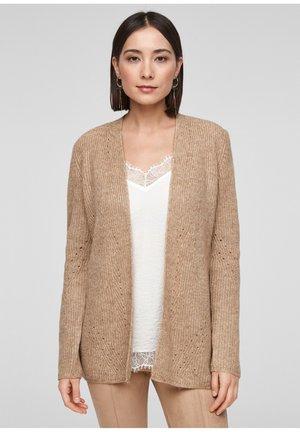 JAS - Cardigan - beige knit