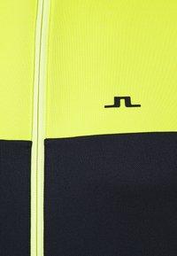J.LINDEBERG - BANKS MID LAYER - Fleece jacket - leaf yellow - 2