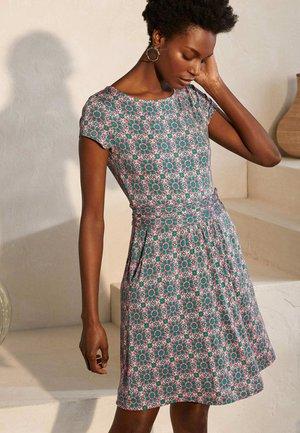 AMELIE  - Jersey dress - milchshake/blumenkachel