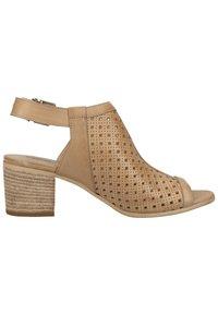 NeroGiardini - Ankle cuff sandals - champagne 439 - 6