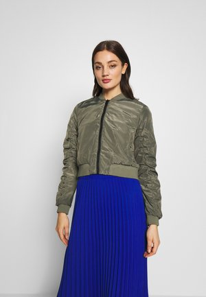 NMSADIE NEW  - Bomber Jacket - dusty olive/hummus