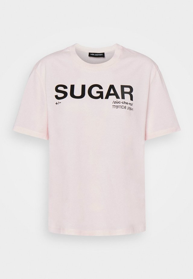 SUGAR - T-shirt imprimé - pink/black