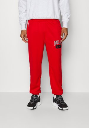 NBA CHICAGO BULLS SPOTHLIGHT PANT - Club wear - university red/black