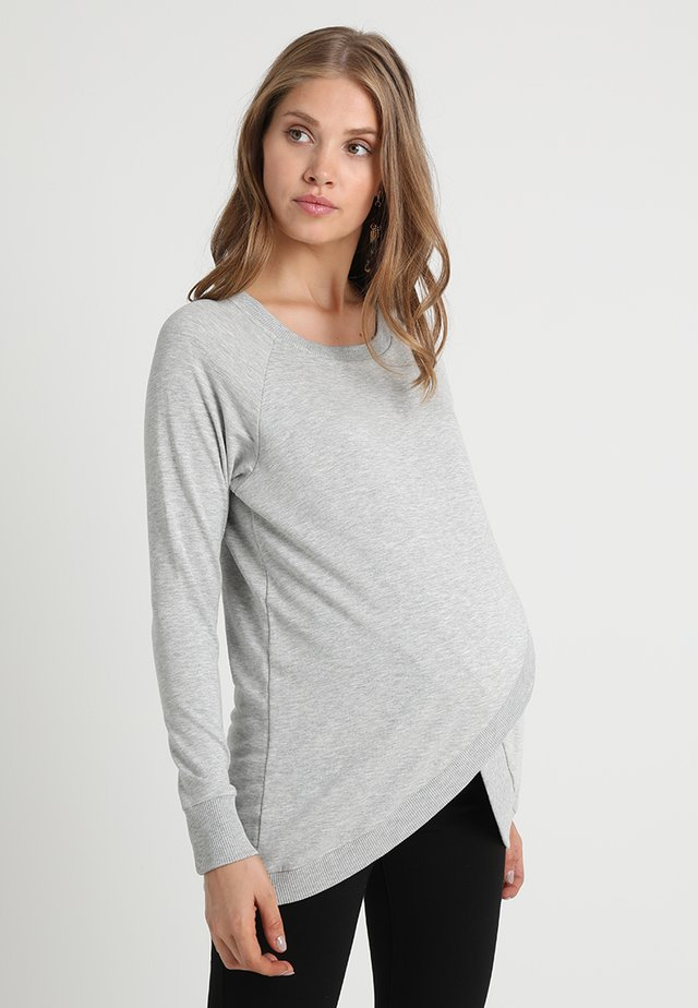 SYBIL - Sweater - grey marl