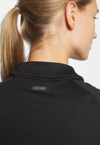 adidas Golf - CLOLDREADY MOCK - Top sdlouhým rukávem - black - 3