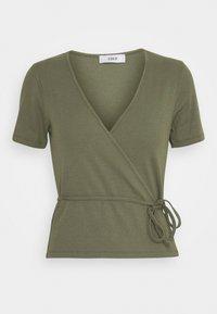 Envii - ENALLY TEE - Print T-shirt - deep lichen green - 0