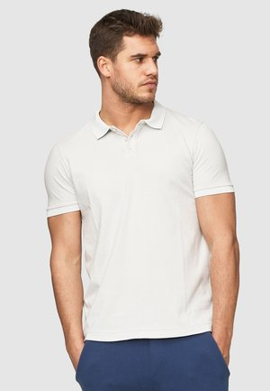 NATHAN - Polo shirt - silver