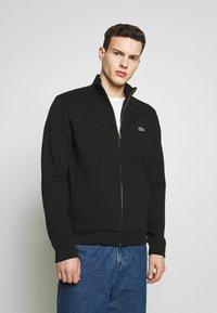 Lacoste - SH4317 - veste en sweat zippée - noir - 0