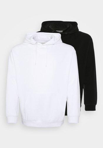 2 PACK  - Luvtröja - black/white