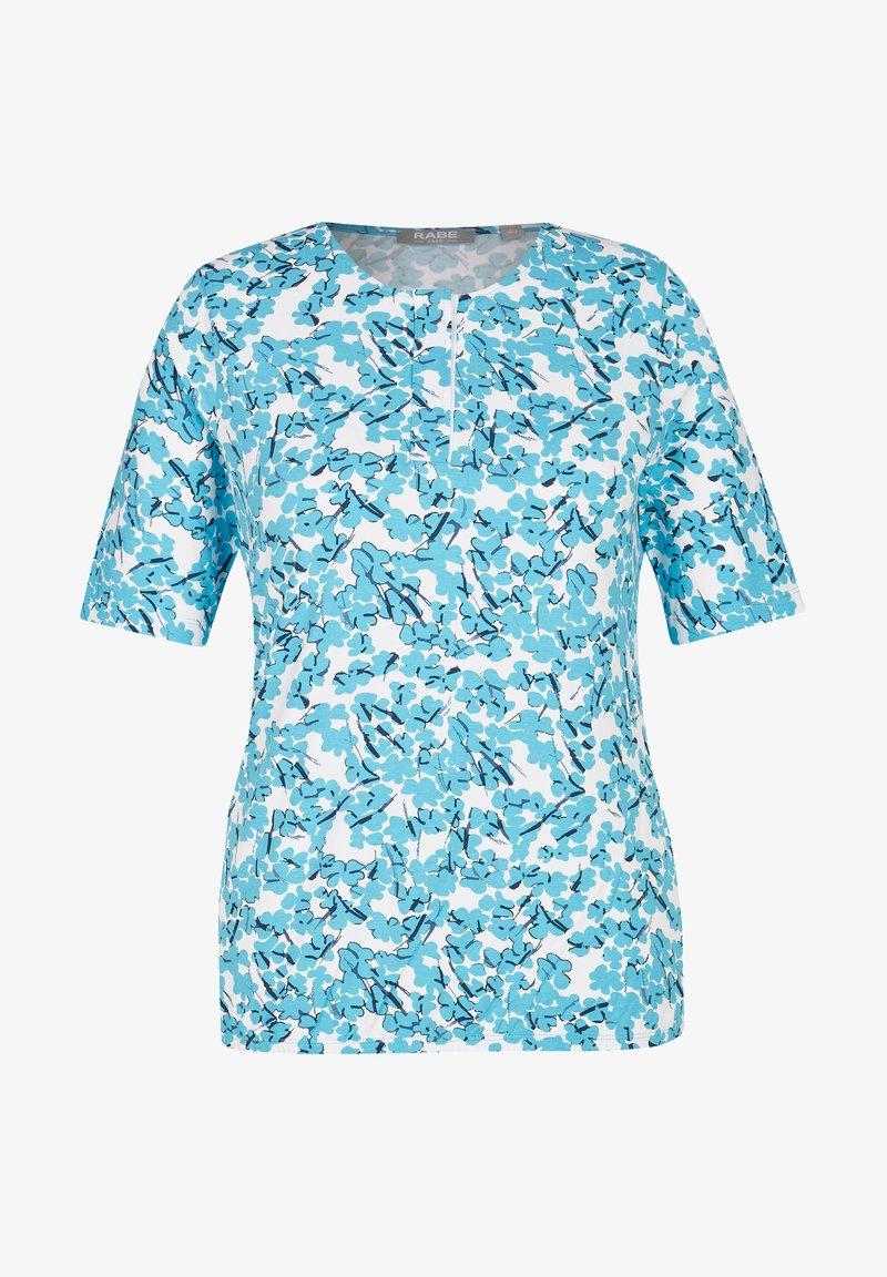 Rabe 1920 - Print T-shirt - turquoise
