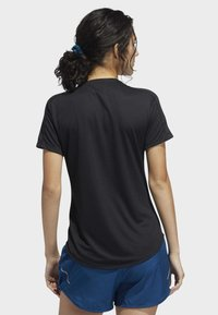 adidas Performance - RUN IT - T-shirts med print - black - 2