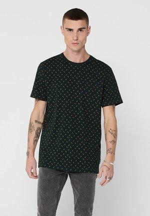 T-shirt print - scarab