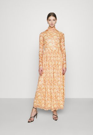 DRESS LIGHT FLORAL  - Maksimekko - light copper