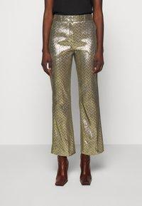 M Missoni - PANTALONE - Trousers - silver - 0