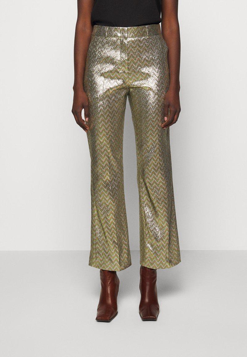 M Missoni - PANTALONE - Trousers - silver