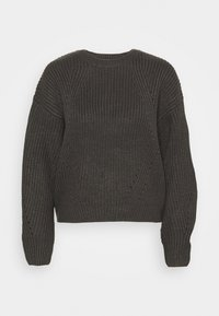 New Look Petite - FASHIONED JUMPER - Svetr - mid grey - 4