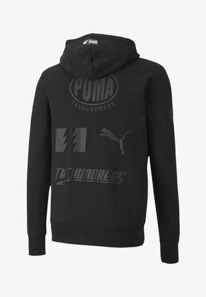 THE HUNDREDS X - Hoodie - puma black