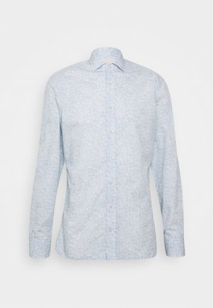 LEAF PRINT - Hemd - blue/white