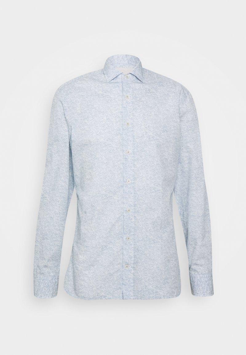 Hackett London - LEAF PRINT - Shirt - blue/white